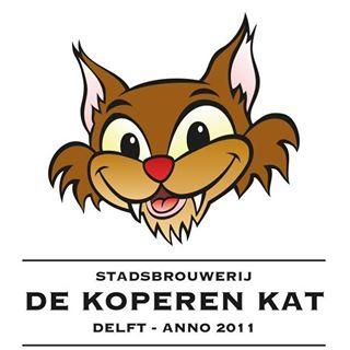 Delftse Stadsbrouwerij De Koperen Kat logo