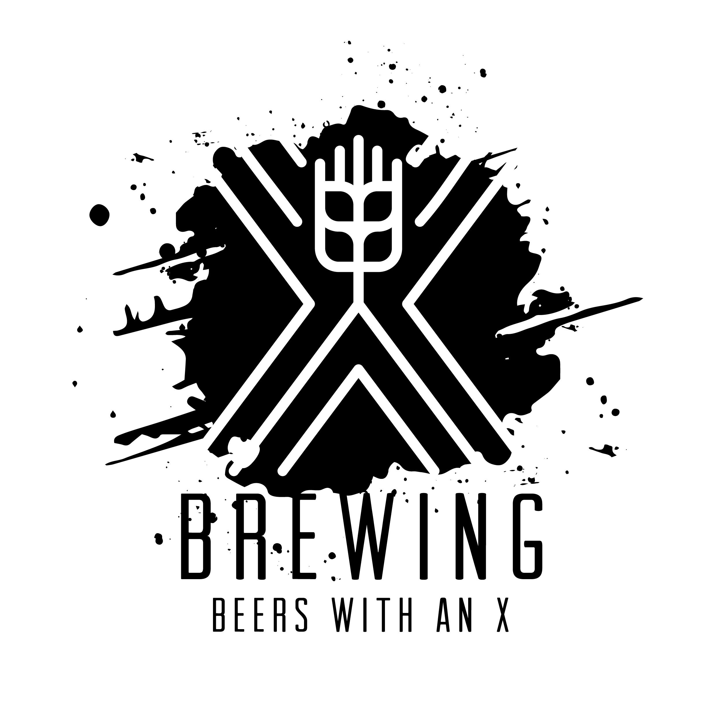 X-brewing logo