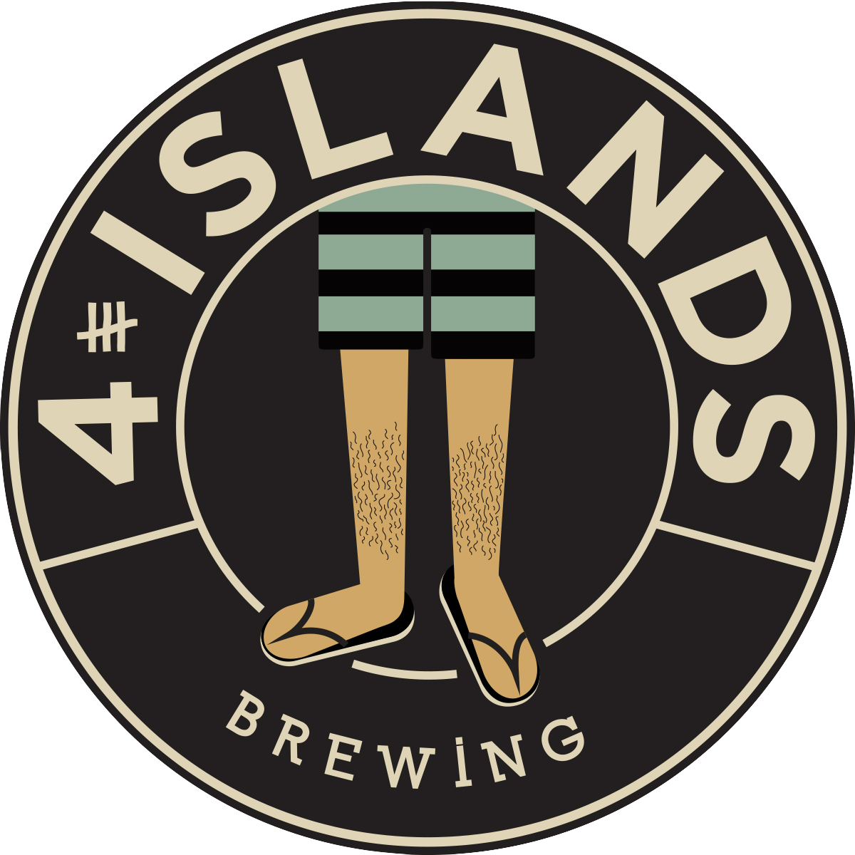 4 Islands Brewing logo