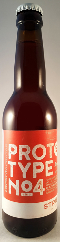 Strieper Craft Beer Company Prototype No4 American Barleywine